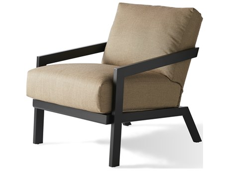 Mallin Oslo Cushion Aluminum Lounge Chair