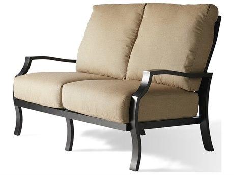 Mallin Palisades Cushion Aluminum Loveseat