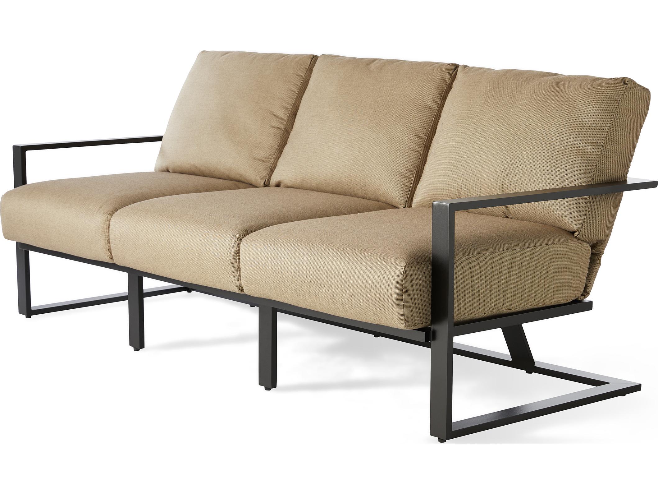 Mallin Quincy Aluminum Sofa