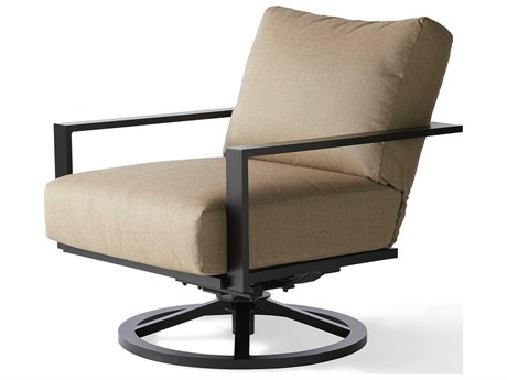 Mallin Quincy Aluminum Swivel Rocker Lounge Chair