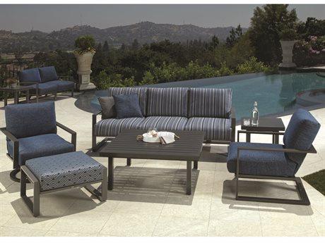 Mallin Quincy Aluminum Lounge Set