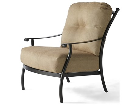 Mallin Seville Cushion Cast Aluminum Lounge Chair