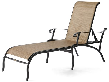 Mallin Scarsdale Sling Aluminum Chaise Lounge