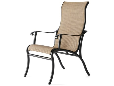 Mallin Scarsdale Sling Aluminum Dining Chair