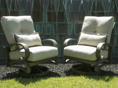Mallin Salisbury Cast Aluminum Cushion Lounge Set