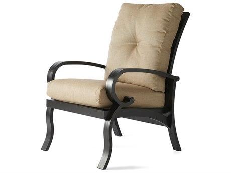 Mallin Salisbury Cast Aluminum Dining Arm Chair