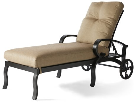 Mallin Salisbury Cast Aluminum Adjustable Chaise Lounge