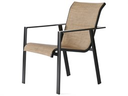 Mallin Tayler Sling Aluminum Dining Arm Chair