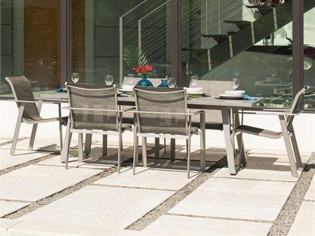 Mallin Tayler Sling Aluminum Dining Set