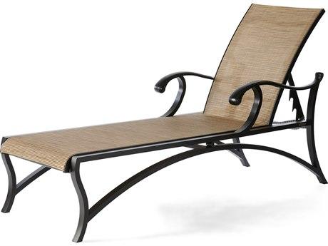 Mallin Volare Sling Cast Aluminum Chaise Lounge