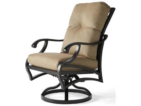 Mallin Volare Cushion Cast Aluminum Dining Chair