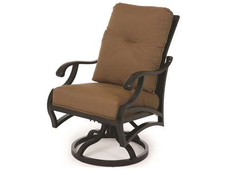 Mallin Volare Replacement Swivel Rocking Dining Arm Chair Cushion
