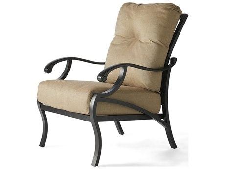 Mallin Volare Cushion Cast Aluminum Lounge Chair