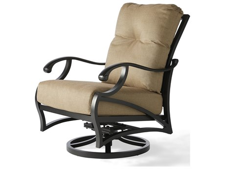 Mallin Volare Cushion Cast Aluminum Lounge Chair