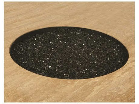 Mallin Firepit Accessories Glass Beads for Round Pan 30 pounds