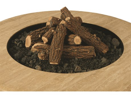 Mallin Firepit Accessories Log and Lava Stones