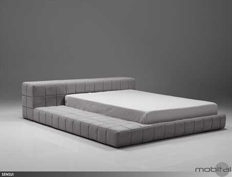 Mobital Sensui Grey King Bed