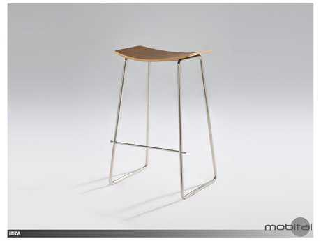 Mobital Ibiza Walnut Bar Stool
