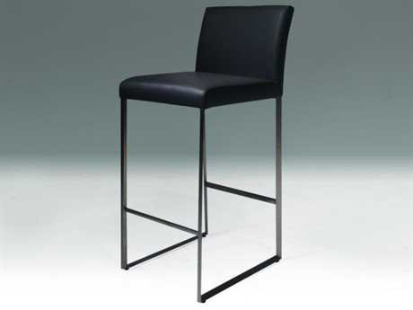 Mobital Tate Black Leatherette Counter Stool