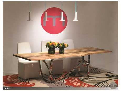 Mobital Calder Ash Walnut 102 x 33 Dining Table