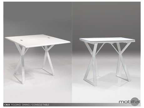 Mobital Crux White 36 x 18 Dining Table