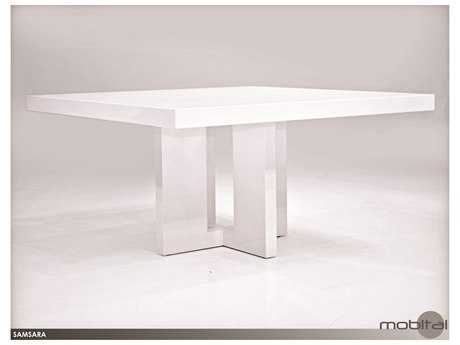 Mobital Samsara White 59'' Square Dining Table