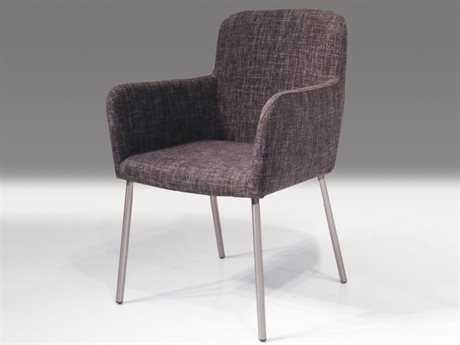 Mobital Cosmo Grey Tweed Accent Arm Chair