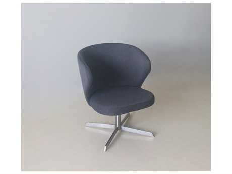 Mobital Veronica Dark Grey Swivel Lounge Chair