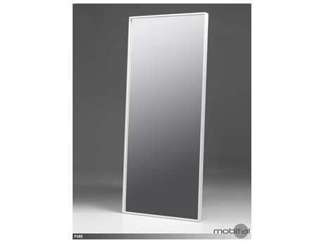 White floor mirrors luxedecor for Mirror 84 x 36
