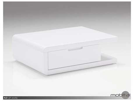 Mobital Flo Left White Night Table