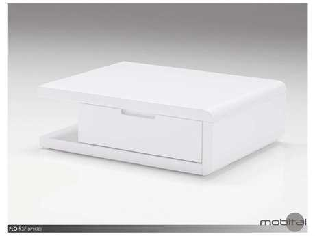 Mobital Flo Right White Night Table