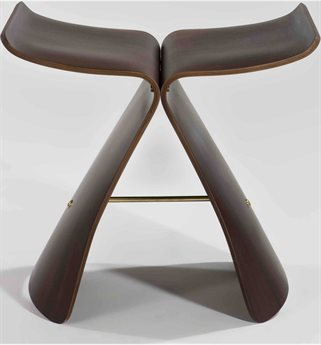 Mobital Swing Natural Walnut Stool