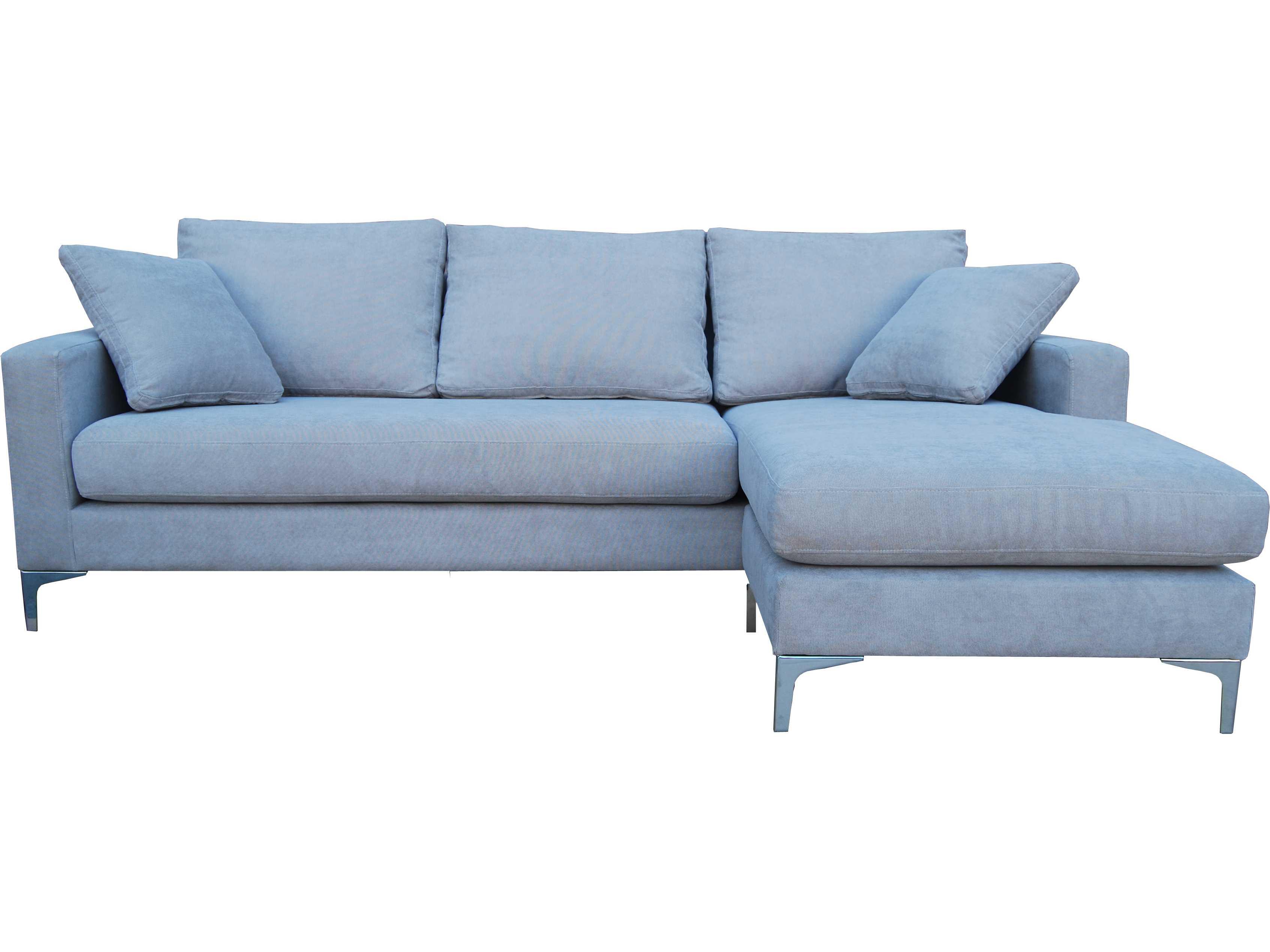 Mobital swap dark grey tweed secional sofa for Grey tweed couch