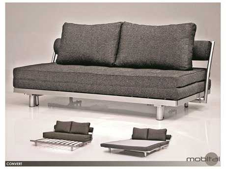 Mobital Convert Dark Charcoal Sofa Bed