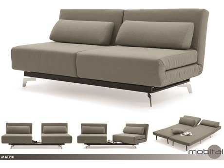 Mobital Matrix Light Grey Sofa Bed