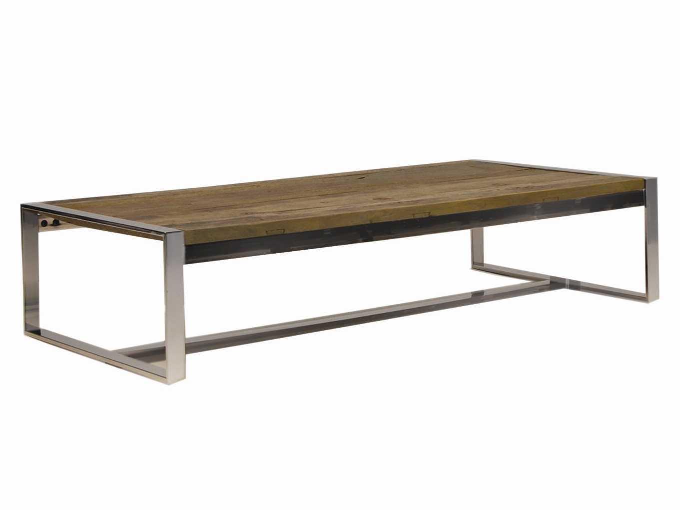 Mobital Motif Bordeaux 54 X 28 Rectangular Reclaimed Elm Wood Coffee Table Mbwcomotiwoodsteel