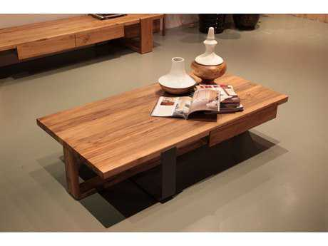 Mobital T-Bar Solid Rowan 55 x 28 Rectangular Coffee Table
