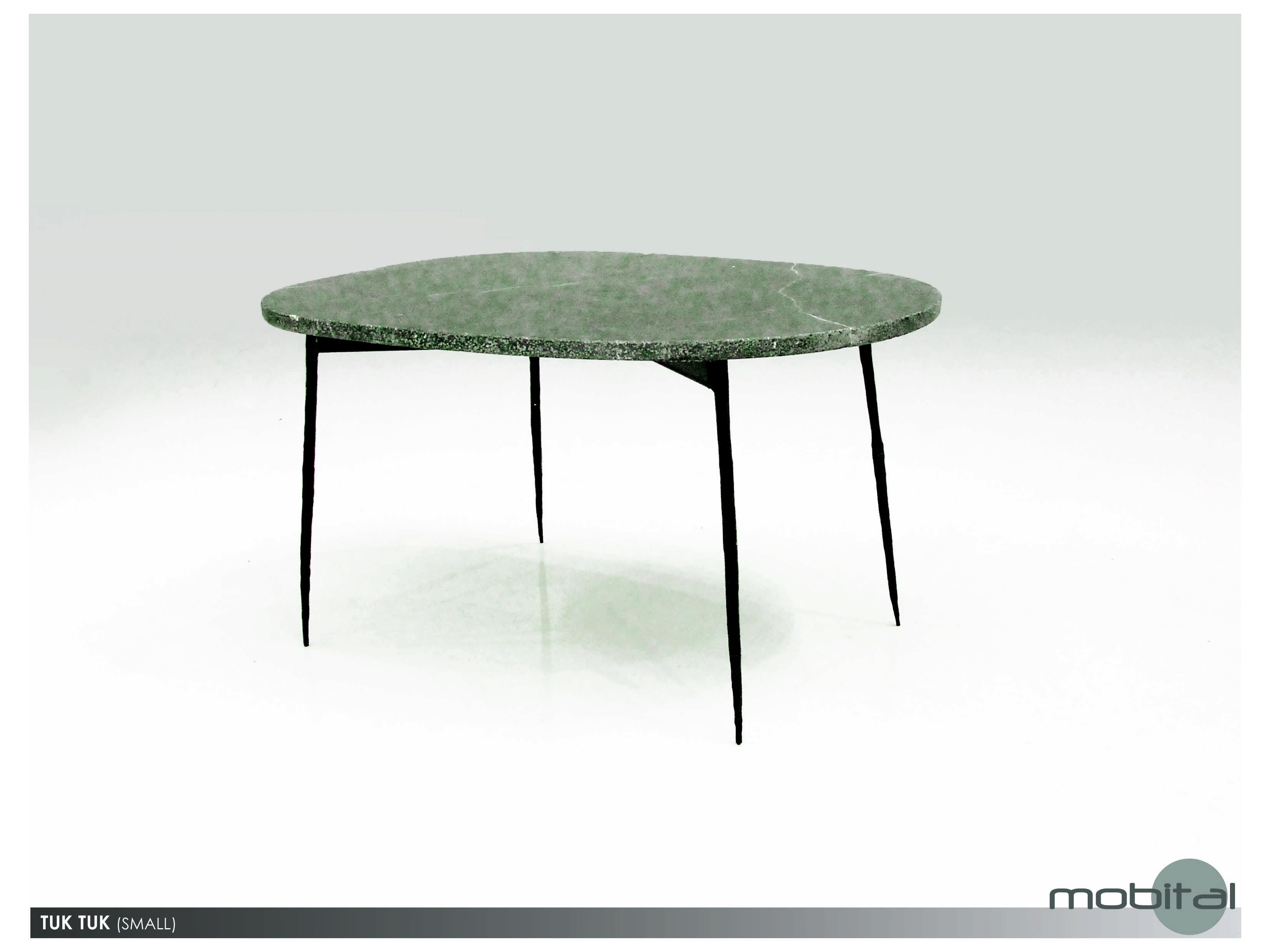 Mobital Tuk Tuk Small Black Marble Coffee Table Mbwcotuktblacsmall