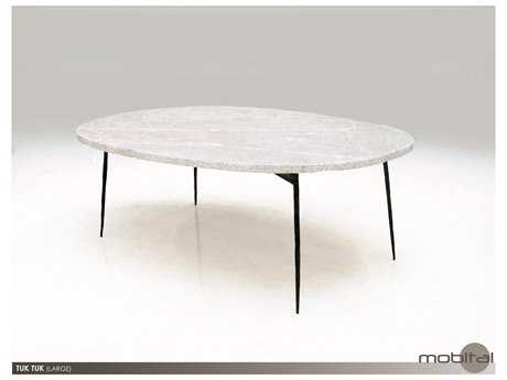 Mobital Tuk Tuk Large Grey Marble Coffee Table