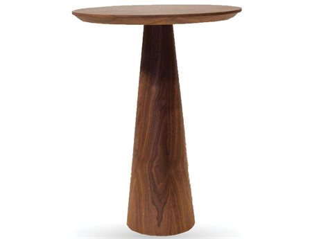 Mobital Tower 14 Round Walnut Medium End Table
