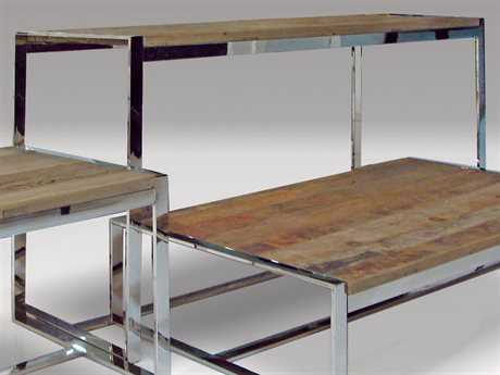 Mobital Motif/Bordeaux 63 x 20 Rectangular Reclaimed Elm Wood Console Table