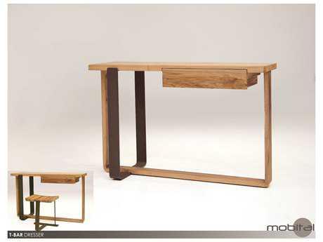Mobital T-Bar Solid Rowan Sofa Table