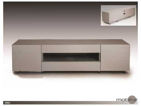 Mobital Vero Small Matte Stone 63 x 16 TV Unit