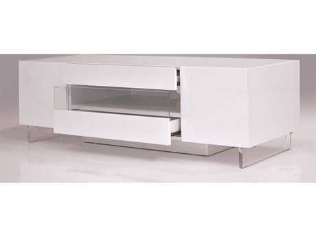 Mobital Vero Small Matte White 63 x 16 TV Unit