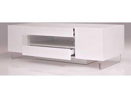 Mobital Vero Small Matte White 63 x 16 TV Unit