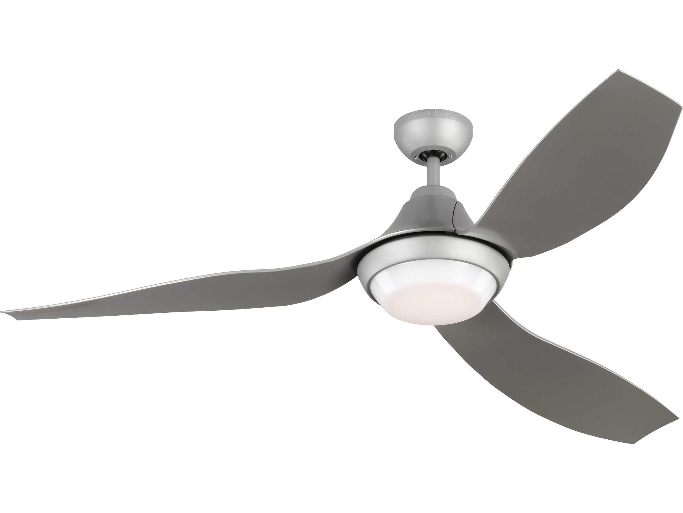 Monte Carlo Fans Avvo Grey 56 Wide Led Indoor Outdoor Ceiling Fan Mcf3avor56gryd