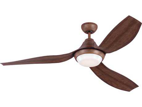 Monte Carlo Fans Avvo Koa 56'' Wide LED Indoor/Outdoor Ceiling Fan