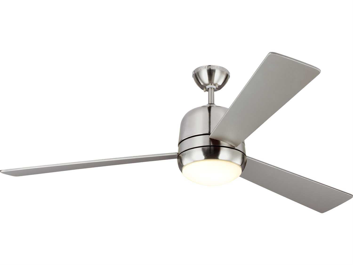 Progress Lighting Archie Collection 26 25 In 3 Light: Monte Carlo Fans Owen Brushed Steel & American Walnut And