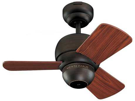 Monte Carlo Fans Micro Roman Bronze 24'' Wide Indoor Ceiling Fan