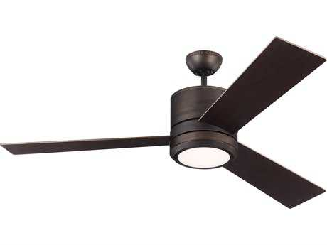 Monte Carlo Fans Vision Max Roman Bronze 56'' Wide LED Indoor/Outdoor Ceiling Fan